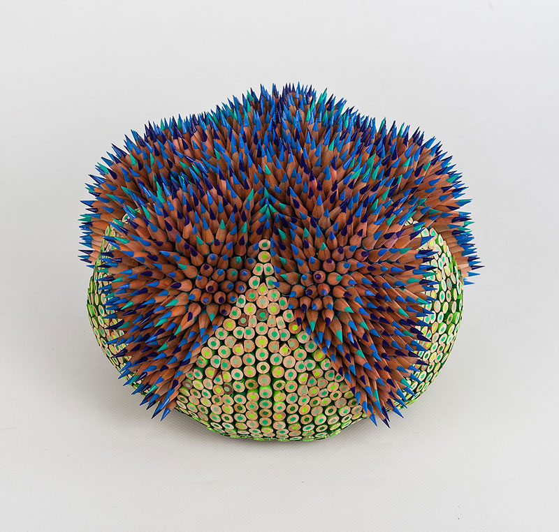 pencil sculptures by jennifer maestre 10 Jennifer Maestre Turns Ordinary Pencils Into Otherworldly Sculptures