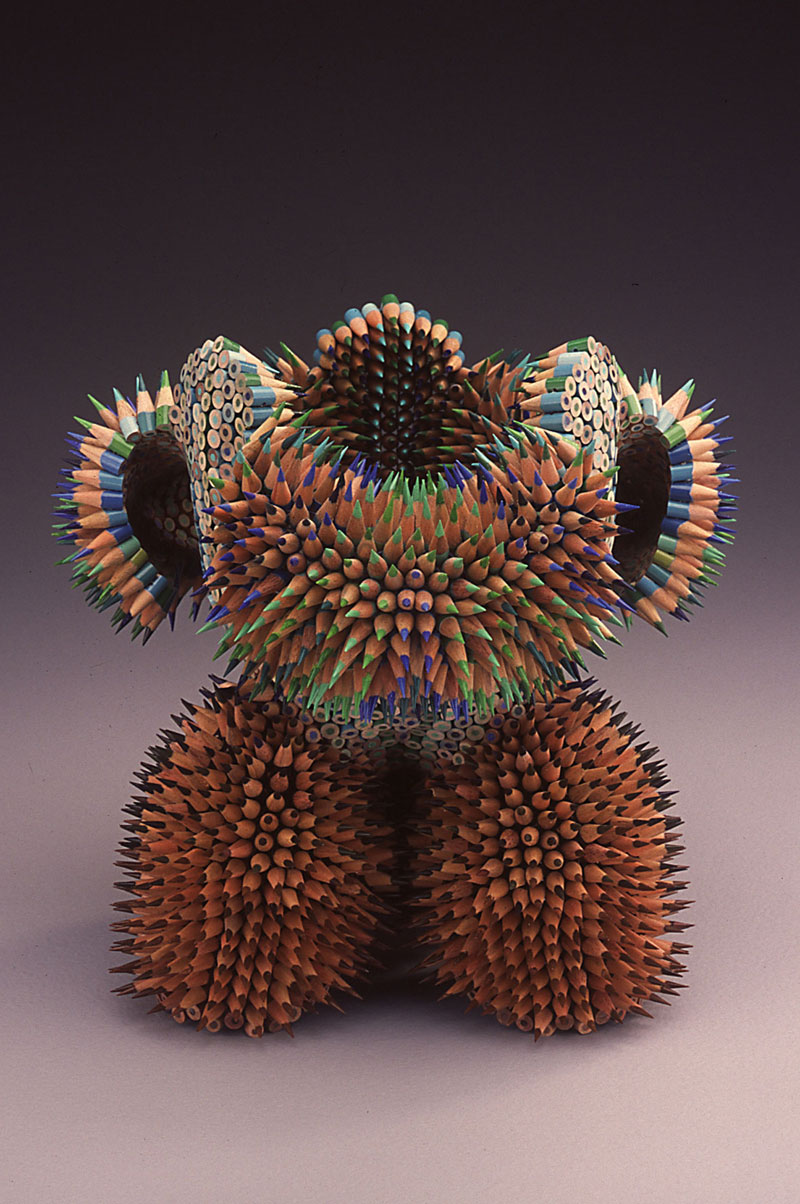 pencil sculptures by jennifer maestre 5 Jennifer Maestre Turns Ordinary Pencils Into Otherworldly Sculptures