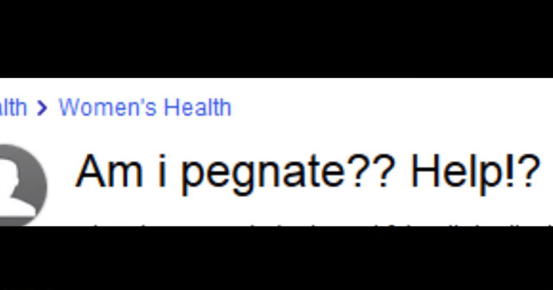 questions-about-pregnancy-on-yahoo-answers-an-oral-reading