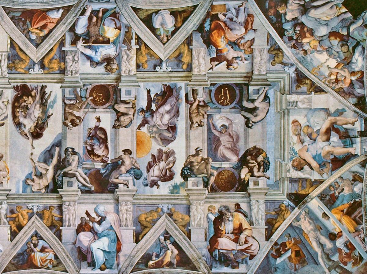 Capilla sixtina miguel angel fotos 5
