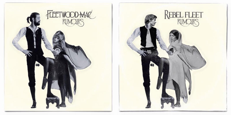 star wars album covers by steve lear why the long play face 35 If Star Wars Characters Were Musicians...