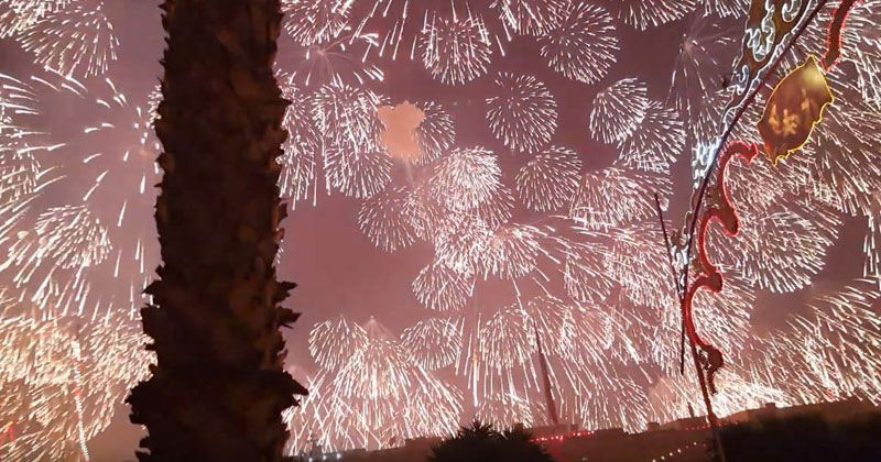 Check Out the Biggest Single Firework Ever Let Off inMalta