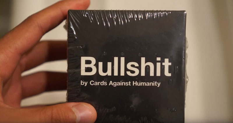 cards against humanity bullshit 2 Cards Against Humanity Continues to Troll Black Friday With Digging of Big, Stupid Hole