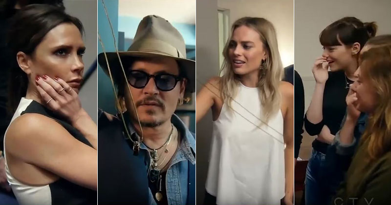 Margot Robbie, Emma Stone, Johnny Depp and More React to David Blaine's Crazy Ring Trick