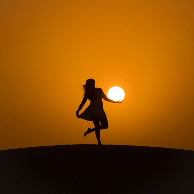 desert sun moon by dennis stever 6 Desert, Sun, Moon by Dennis Stever (8 Photos)