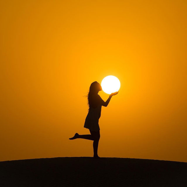 desert sun moon by dennis stever 8 Desert, Sun, Moon by Dennis Stever (8 Photos)