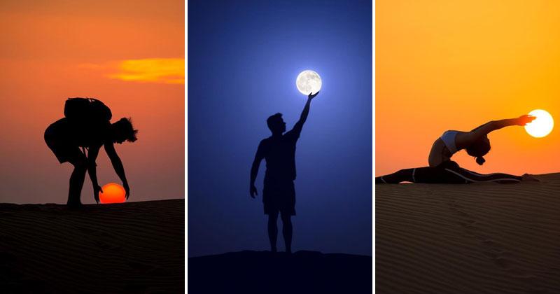 Desert, Sun, Moon by Dennis Stever (8Photos)