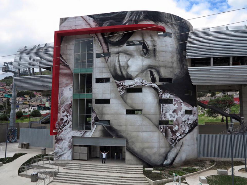 guido van helten street art 9 Colossal Humans by Guido Van Helten (12 Artworks)