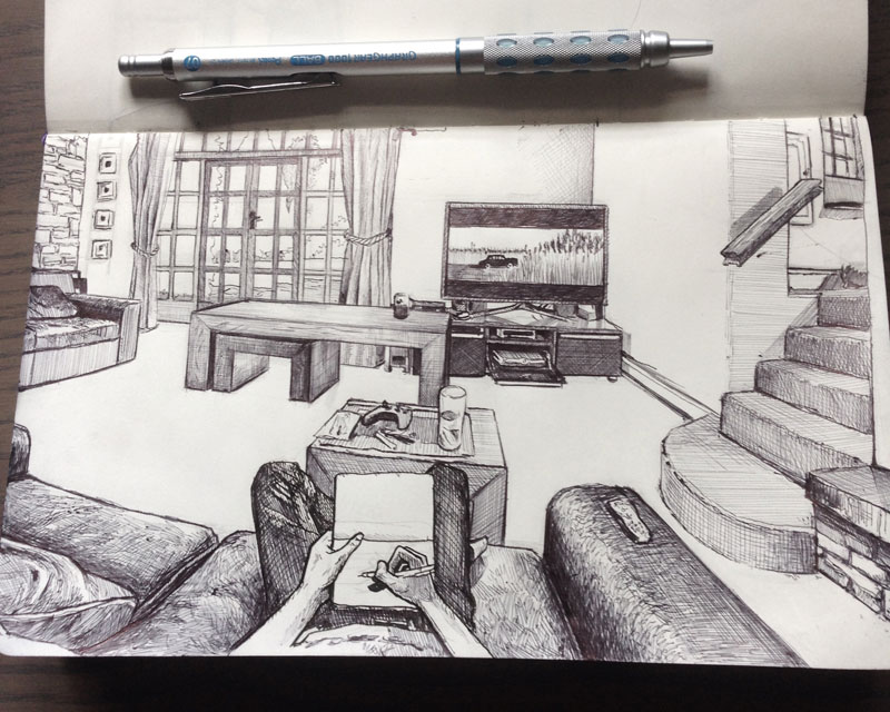 """""""Sketches From My Point of View"""" by TomSharp"""