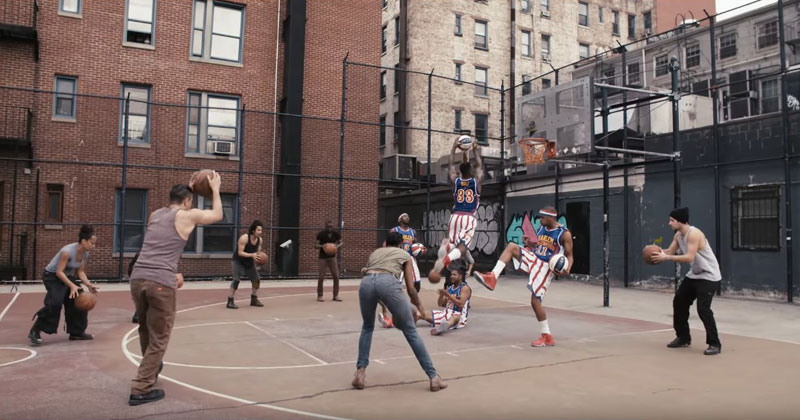 Stomp and the Harlem Globetrotters Nailed This Amazing Routine in Just 7 Tries