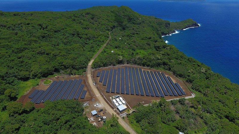 tesla powers entire island with solar energy 5 Tesla Just Powered a 600 Person Island With Renewable Solar Energy