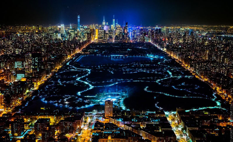 Vincent Laforet Takes the Most Amazing Night Time Aerials I Have EverSeen