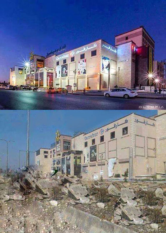 a syrian restaurant is posting before and after photos of aleppo and its heartbreaking 16 A Syrian Restaurant is Posting Before and After Photos of Aleppo and Its Heartbreaking