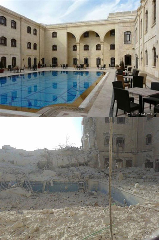a syrian restaurant is posting before and after photos of aleppo and its heartbreaking 20 A Syrian Restaurant is Posting Before and After Photos of Aleppo and Its Heartbreaking