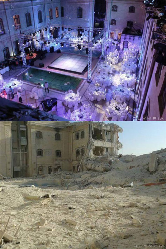 a syrian restaurant is posting before and after photos of aleppo and its heartbreaking 21 A Syrian Restaurant is Posting Before and After Photos of Aleppo and Its Heartbreaking