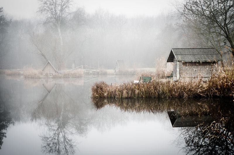 fishing lake in hungary looks frozen in time 4 This Hungarian Fishing Lake Looks Frozen in Time (11 Photos)