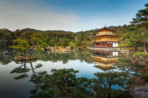 Picture of the Day: Kinkakuji (Golden Pavilion), Kyoto, Japan