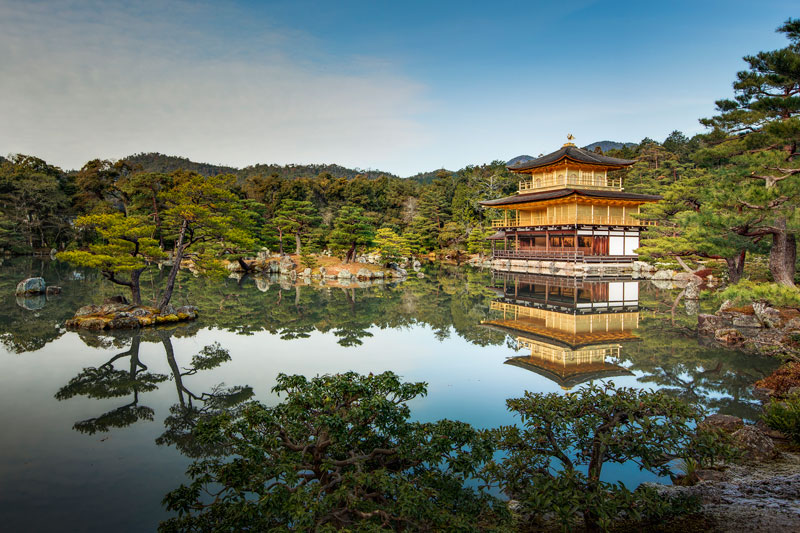 Picture of the Day: Kinkakuji (Golden Pavilion), Kyoto, Japan