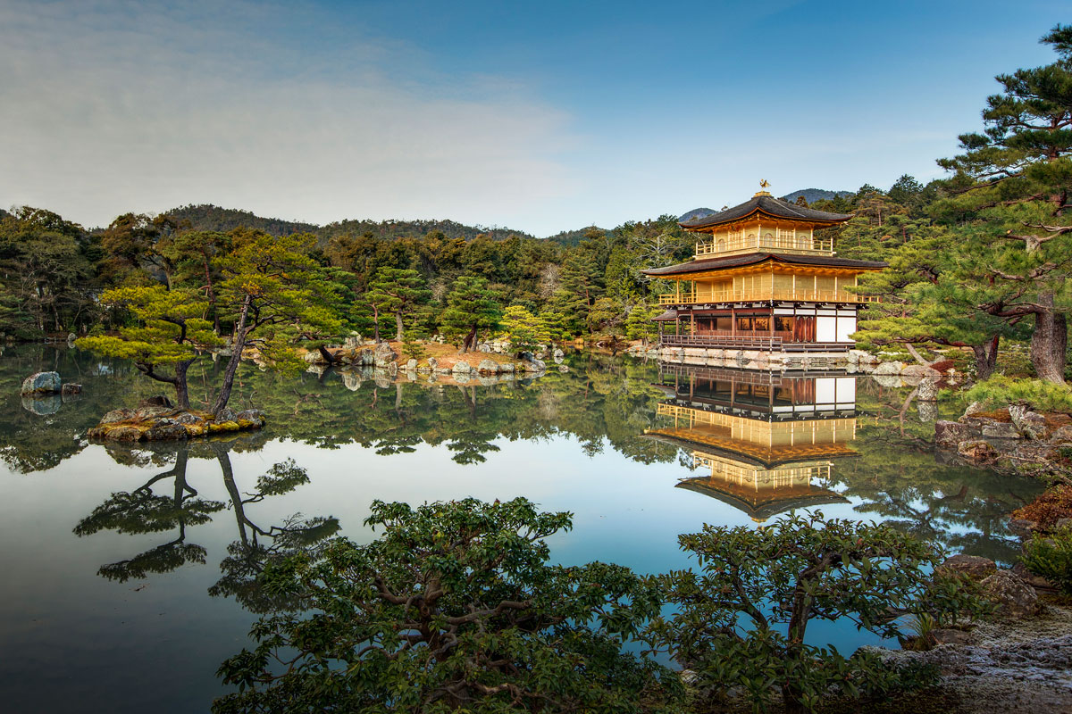 kinkaku ji golden pavillion kyoto japan 2 Picture of the Day: Kinkakuji (Golden Pavilion), Kyoto, Japan