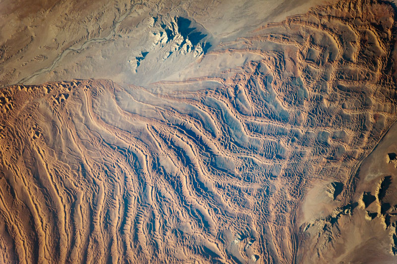 Picture of the Day: The Linear Dunes of the Namib Sand Sea from Space