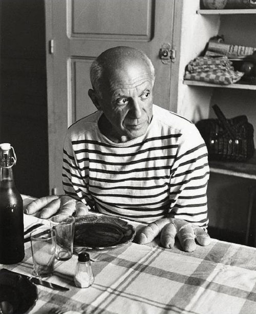 pablo picasso bread hands Picassos Self Portraits from 15 Years Old to 90 Year Old