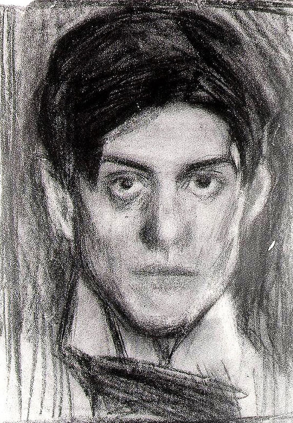 picasso self portrait 18 years old 1900 Picassos Self Portraits from 15 Years Old to 90 Year Old