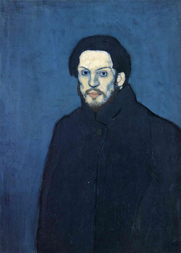 picasso self portrait 20 years old 1901 picassos self portraits from 15 years old to 90