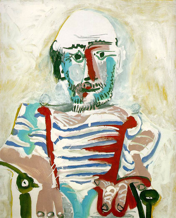 picasso self portrait 83 years old 1965 Picassos Self Portraits from 15 Years Old to 90 Year Old