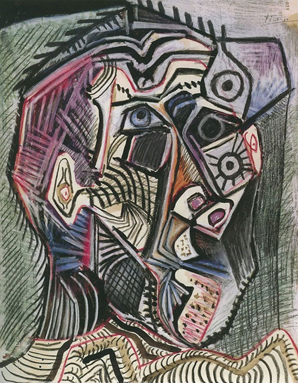 picasso self portrait 90 years old june 28 1972 Picassos Self Portraits from 15 Years Old to 90 Year Old