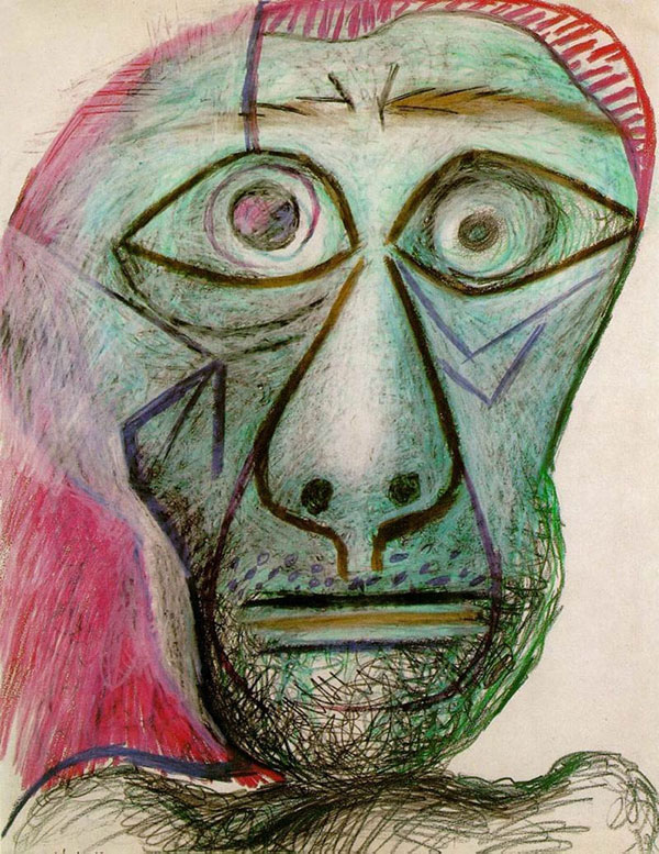 picasso self portrait 90 years old june 30 1972 Picassos Self Portraits from 15 Years Old to 90 Year Old