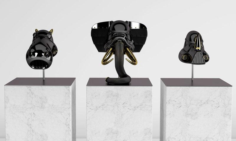 stormtrooper animal helmets by blank william 17 Stormtrooper Animal Helmets by Blank William (16 photos)