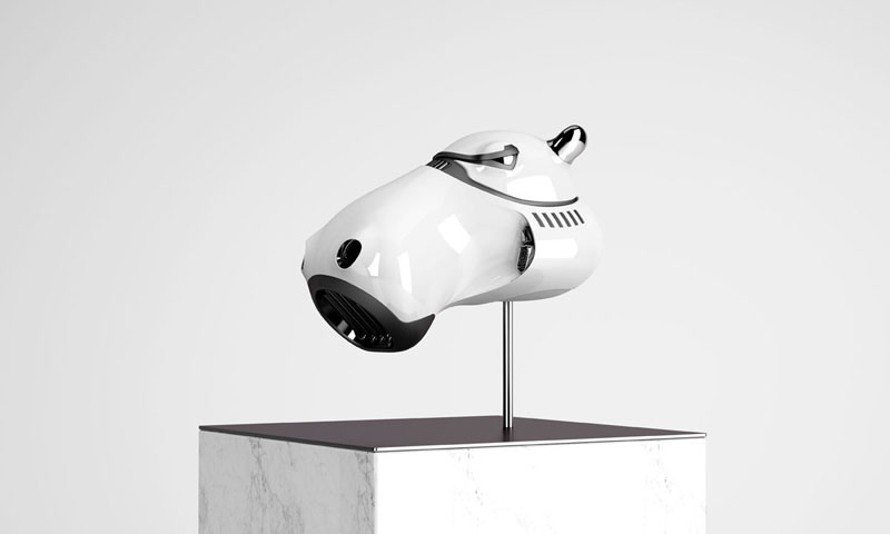 stormtrooper animal helmets by blank william 2 Stormtrooper Animal Helmets by Blank William (16 photos)