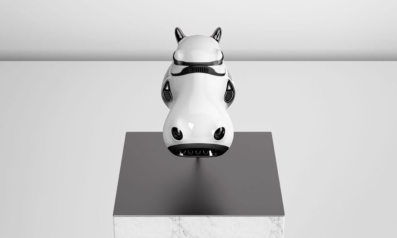 stormtrooper animal helmets by blank william 3 Stormtrooper Animal Helmets by Blank William (16 photos)
