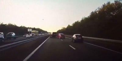 Dash Cam Shows Tesla's Autopilot Braking for a Crash Before ItHappens