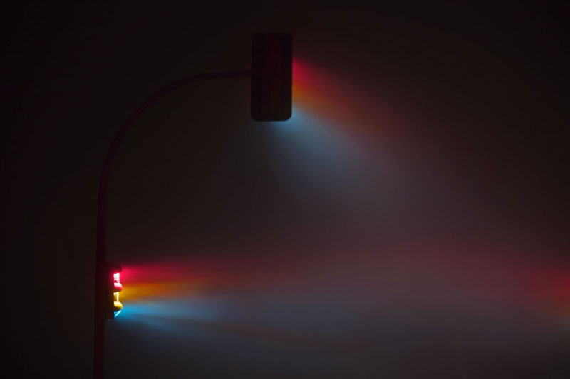 traffic lights at night long exposure by lucas zimmermann 2 Long Exposure Traffic Lights by Lucas Zimmermann