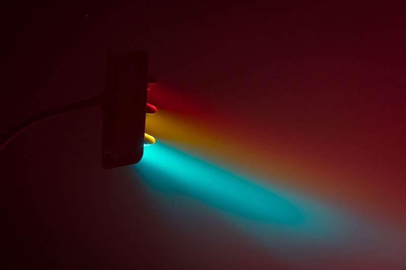 traffic lights at night long exposure by lucas zimmermann 3 Long Exposure Traffic Lights by Lucas Zimmermann