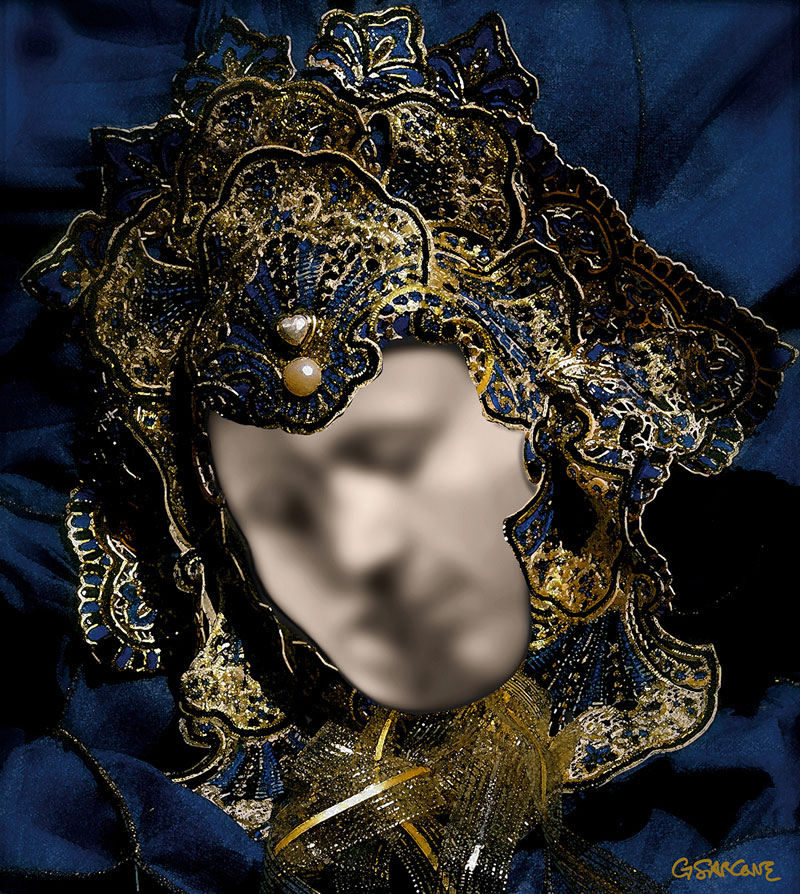 venetian mask illusion the kiss by gianni sarcone 2 If You Only See a Venetian Mask Look Again