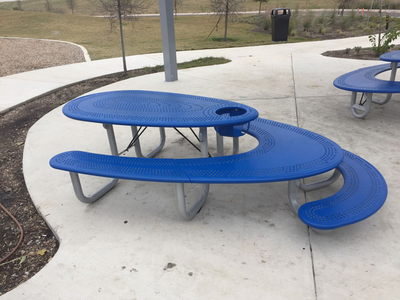 This is One Well-Designed Picnic Table