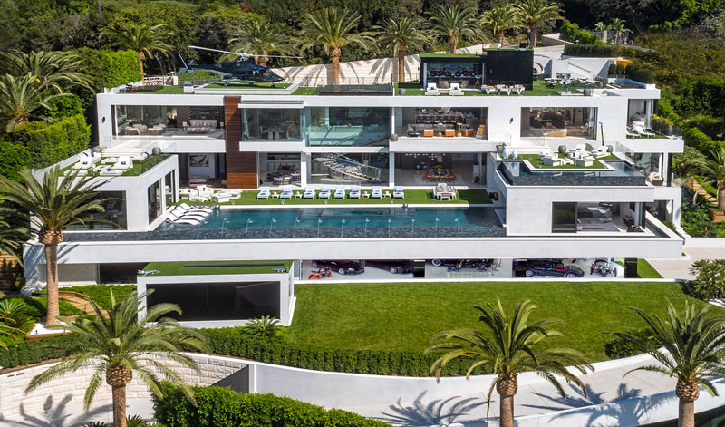 924 bel air road by bruce makowsky bam luxury development 1 This is What the Most Expensive House in the United States Looks Like (19 Photos)