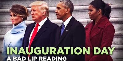 A Bad Lip Reading of Trump's Inauguration
