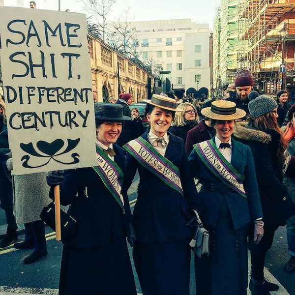 best funny creative signs from womens march 2017 2 50 Amazing Signs from Womens Marches Across the Globe