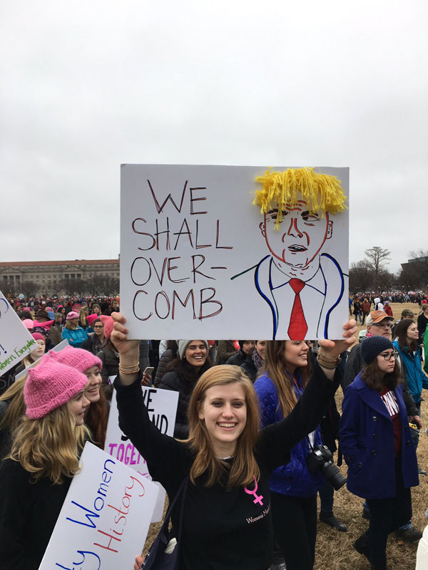 best funny creative signs from womens march 2017 28 50 Amazing Signs from Womens Marches Across the Globe