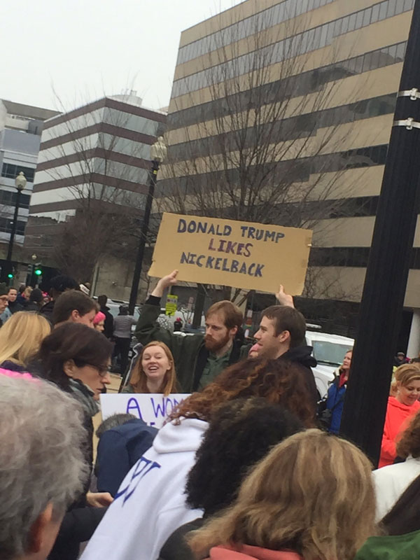 best funny creative signs from womens march 2017 29 50 Amazing Signs from Womens Marches Across the Globe