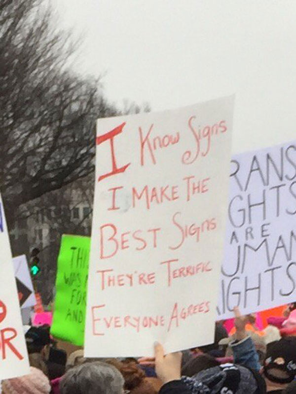 best funny creative signs from womens march 2017 31 50 Amazing Signs from Womens Marches Across the Globe