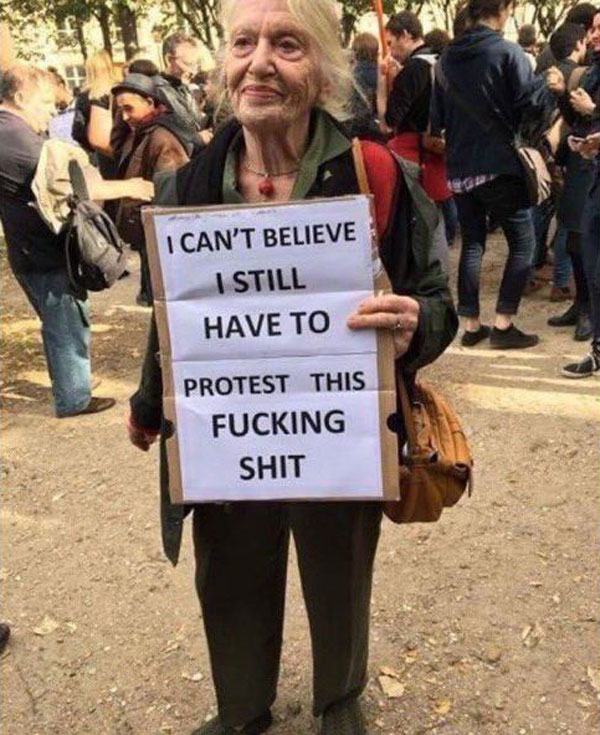 best funny creative signs from womens march 2017 34 50 Amazing Signs from Womens Marches Across the Globe
