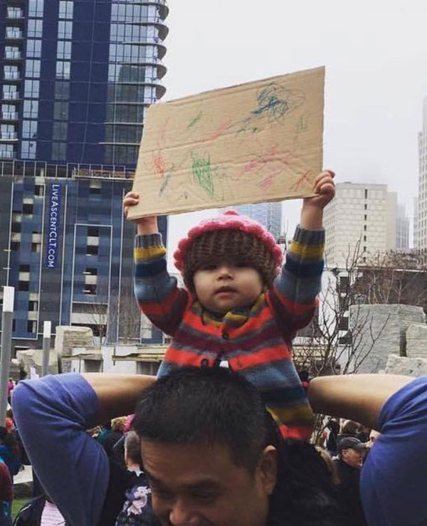 best funny creative signs from womens march 2017 37 50 Amazing Signs from Womens Marches Across the Globe