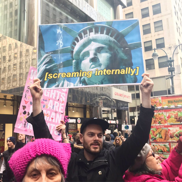 best funny creative signs from womens march 2017 42 50 Amazing Signs from Womens Marches Across the Globe
