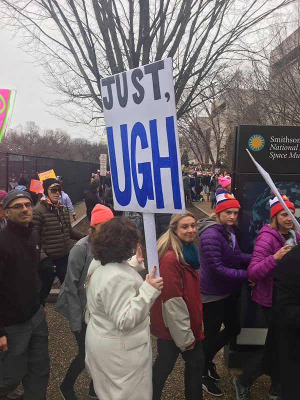 best funny creative signs from womens march 2017 45 50 Amazing Signs from Womens Marches Across the Globe