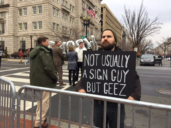 best funny creative signs from womens march 2017 6 50 Amazing Signs from Womens Marches Across the Globe