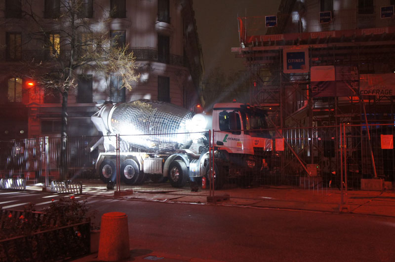 disco ball concrete mixer by benedetto bufalino 3 Disco Ball Concrete Mixer Wants to Party Hard